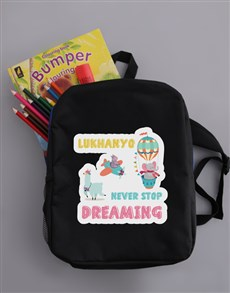 gifts: Personalised Dream Backpack!