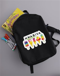 gifts: Personalised Ice Cream Backpack!