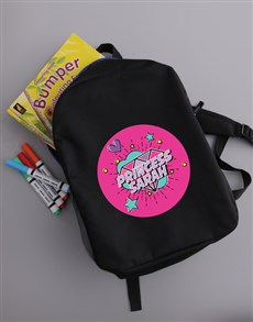 gifts: Personalised Princess Backpack!
