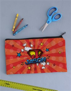 gifts: Personalised Super Pencil Bag !