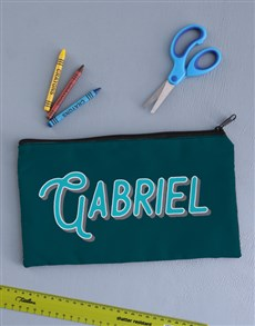 gifts: Personalised Bold Pencil Bag!