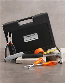 gifts: Personalised 15 Piece Tool Set!