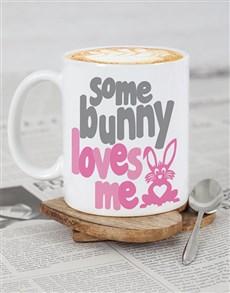 gifts: Personalised SomeBunny Easter Mug!