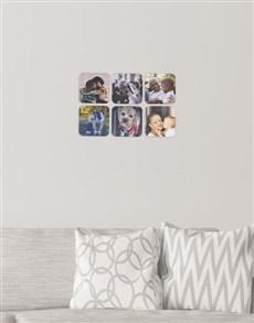 gifts: Personalised Square Multi Photo Blocks!