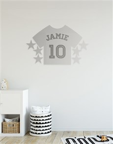 gifts: Personalised Sport Shirt Mirror!