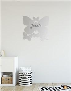 gifts: Personalised Butterflies Mirror!