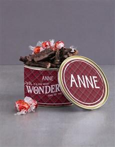 gifts: Personalised Wonderful Biltong Tin!