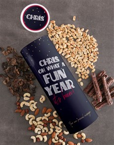 gifts: Personalised Fun Year Biltong Tube!