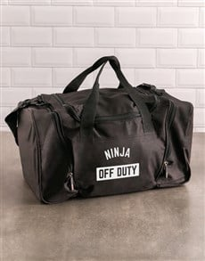 gifts: Personalised Off Duty Gym Bag!
