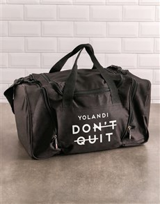gifts: Personalised Do It Gym Bag!