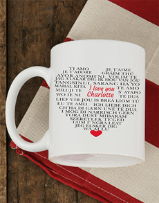 gifts: Personalised Languages of Love Mug!