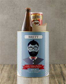 gifts: Personalised Husband Bro Bucket!