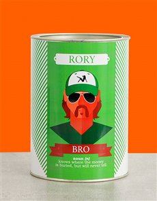 gifts: Personalised Bro Bro Bucket!