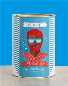gifts: Personalised Birthday Boy Bro Bucket!