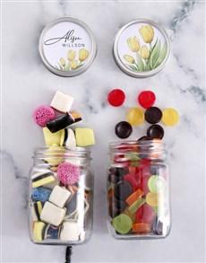 gifts: Personalised Sweetie Jar Gift Hamper!