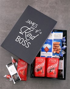 gifts: Personalised One of a Kind Lindt Box!