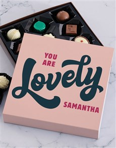 gifts: Personalised Lovely Chocolate Tray!