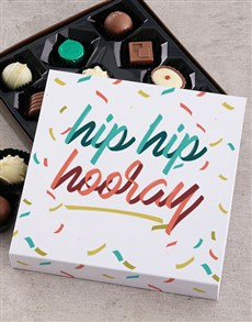 gifts: Personalised Hip Hooray Chocolate Tray!