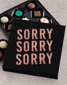gifts: Personalised Thousand Apologies Chocolate Tray!