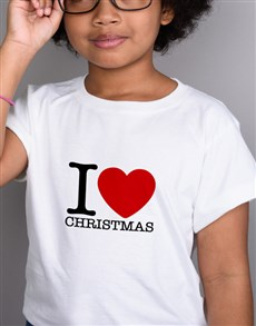 gifts: Personalised I Heart Kids T Shirt!