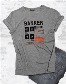 gifts: Personalised User Manual T Shirt!