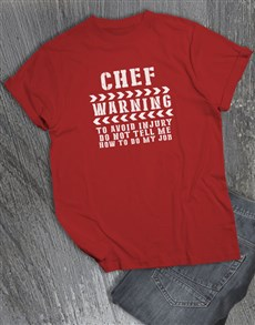 gifts: Personalised Avoid Injury T Shirt!
