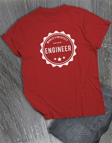 gifts: Personalised Worlds Greatest T Shirt!