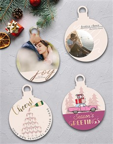 gifts: Personalised Cheers MDF Tree Decor !