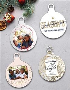 gifts: Personalised Joyful MDF Tree Décor!