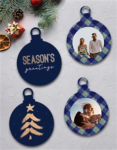 gifts: Personalised Seasons Greetings MDF Tree Decor!