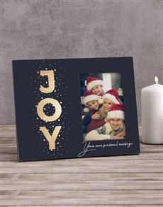 gifts: Personalised Joy Photo Frame!