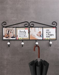 gifts: Personalised Happy Home Coat Rack!