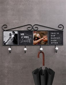 gifts: Personalised Happy Memories Coat Rack!
