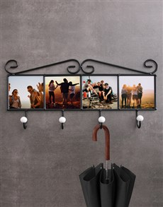 gifts: Personalised Photo Upload Coat Rack!