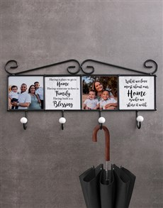 gifts: Personalised Blessing Coat Rack!