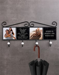 gifts: Personalised First Home Coat Rack!
