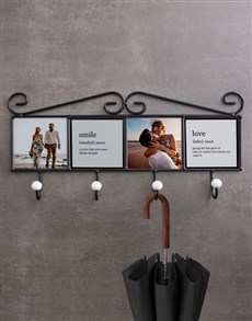 gifts: Personalised Smile Coat Rack!