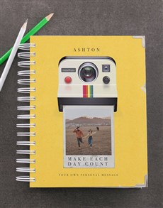 gifts: Personalised Polaroid Diary!
