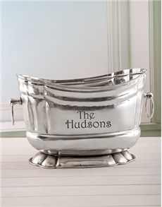 gifts: Personalised Pewter Wine Cooler!