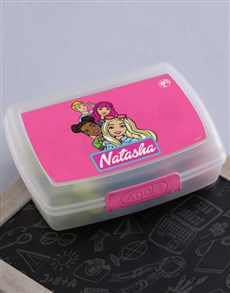 gifts: Personalised Barbie Lunchbox!