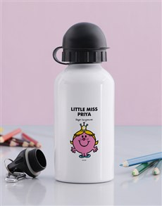 gifts: Personalised Miss Princess Water Bottle!