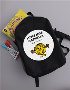 gifts: Personalised Miss Sunshine Backpack!