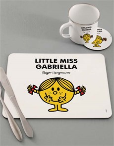 gifts: Personalised Little Miss Sunshine Dinner Set!