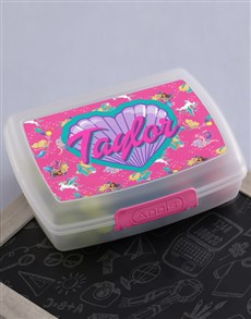 gifts: Personalised Barbie Friends Lunchbox!