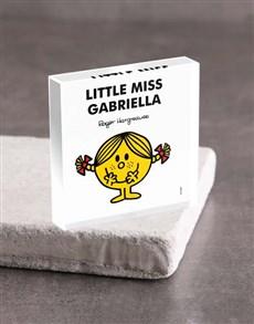 gifts: Personalised Miss Sunshine Acrylic Block!