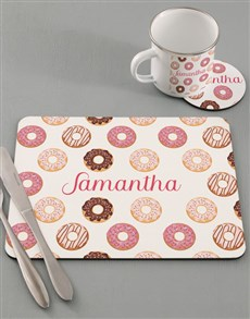gifts: Personalised Doughnut Kids Kitchen Set!