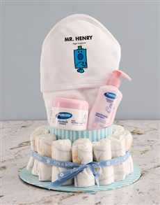 gifts: Personalised Grumpy Nappy Gift Set!