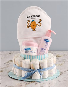 gifts: Personalised Tickle Monster Nappy Gift Set!