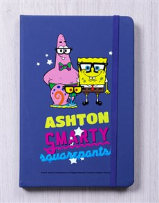 gifts: Personalised Smarty Blue Notebook!