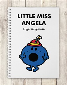 gifts: Personalised Little Miss Bossy Notebook!